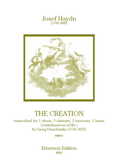 THE CREATION Part 3 score & parts