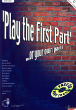 PLAY THE FIRST PART...or your own part + CD bass clef