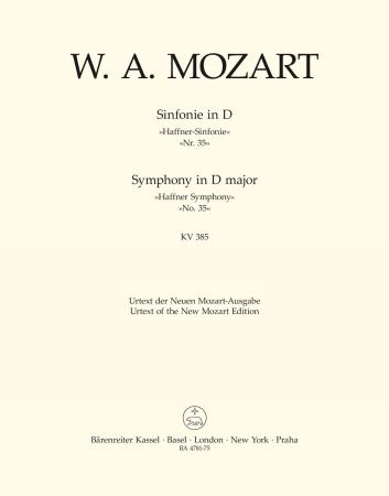 Symphony No.35 - Viola