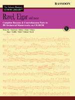 THE ORCHESTRA MUSICIAN'S CD-ROM LIBRARY Volume 7: Ravel, Elgar etc