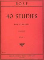 40 STUDIES Volume 2 based on violin studies