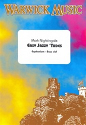 EASY JAZZY 'TUDES for Euphonium/Baritone (bass clef) + CD