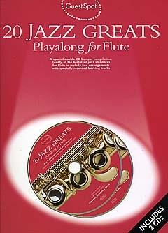 GUEST SPOT: 20 Jazz Greats Playalong + CD