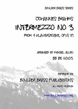 INTERMEZZO No.3 Op.119