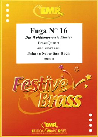 FUGUE No.16 score & parts