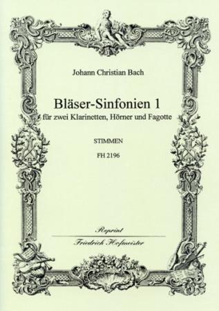 BLASER-SINFONIEN Volume 1 Nos.1-3 (set of parts)