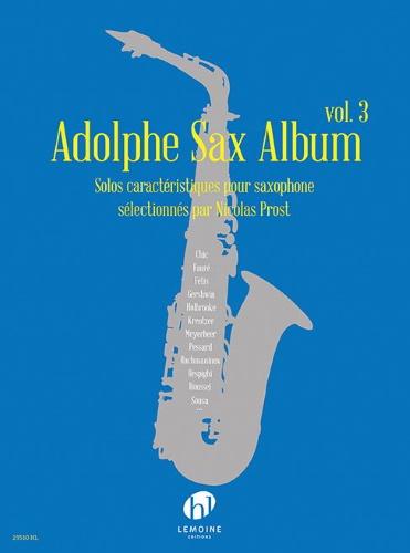 ADOLPHE SAX ALBUM Volume 3