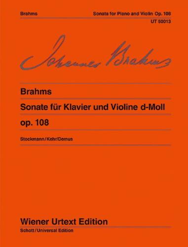 SONATA in D minor, Op.108