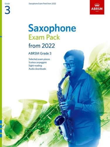 SAXOPHONE EXAM PACK From 2022 Grade 3