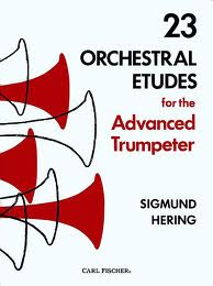 23 ORCHESTRAL ETUDES for the Advanced Trumpeter