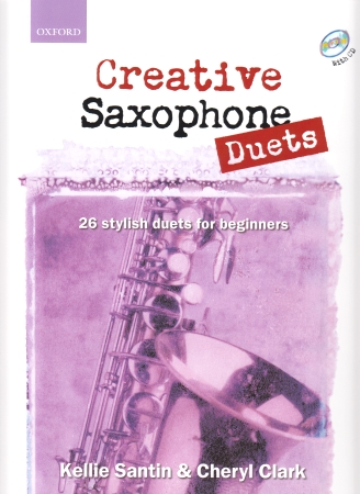 CREATIVE SAXOPHONE DUETS + CD