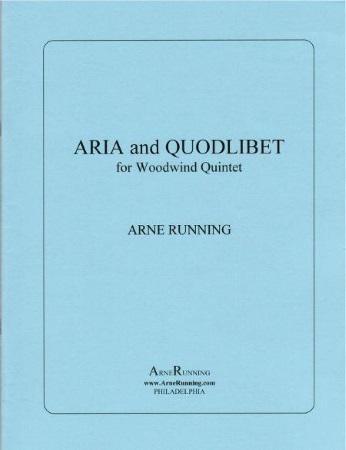 ARIA AND QUODLIBET (score & parts)