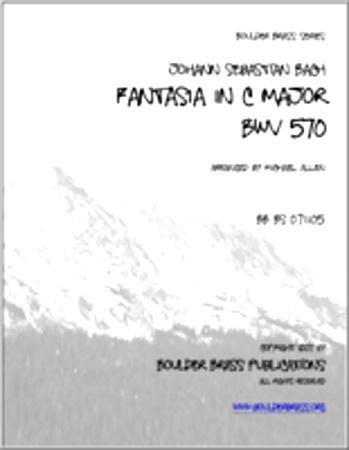 FANTASIA in C major, BWV 570 (score & parts)