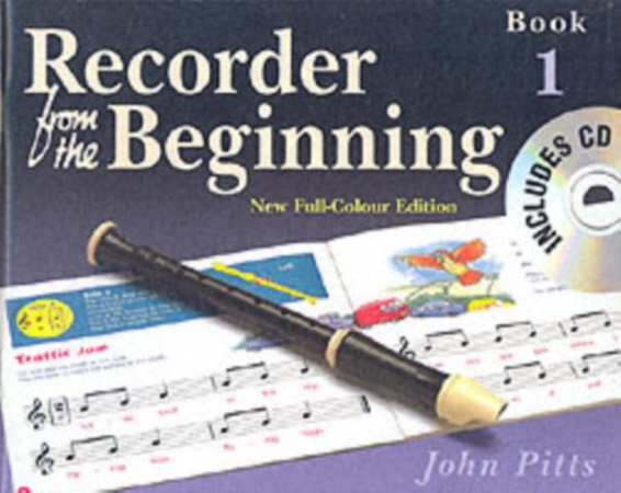 RECORDER FROM THE BEGINNING Book 1 + CD