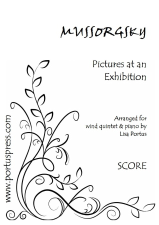 PICTURES AT AN EXHIBITION (score & parts)