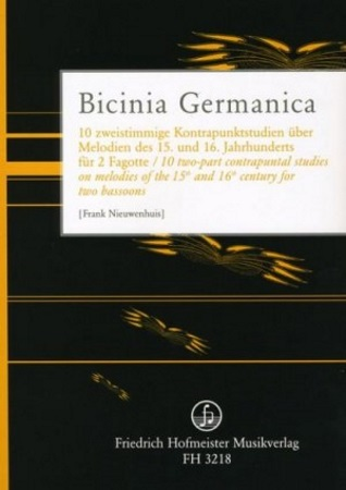 BICINIA GERMANICA 10 2-part contrapuntal studies