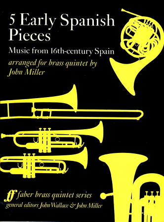 5 EARLY SPANISH PIECES score & parts