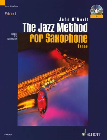 THE JAZZ METHOD FOR SAXOPHONE + CD (Tenor)
