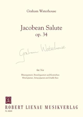 JACOBEAN SALUTE Op.34 score