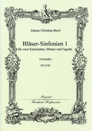 BLASER-SINFONIEN Volume 1 Nos.1-3 set of parts