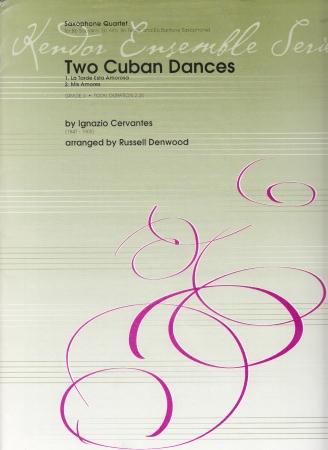 TWO CUBAN DANCES