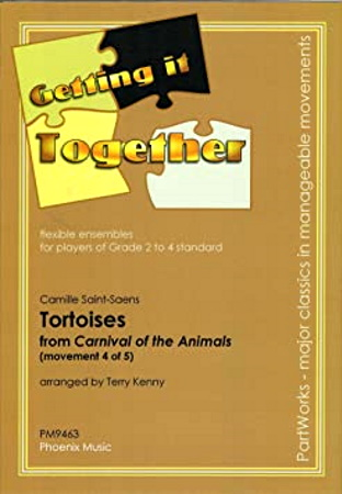 TORTOISES  No.4 from Carnival of the Animals