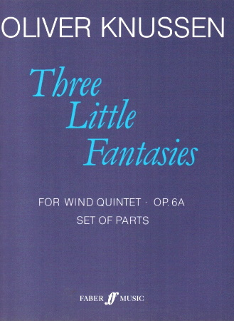 THREE LITTLE FANTASIES Op.6A (set of parts)