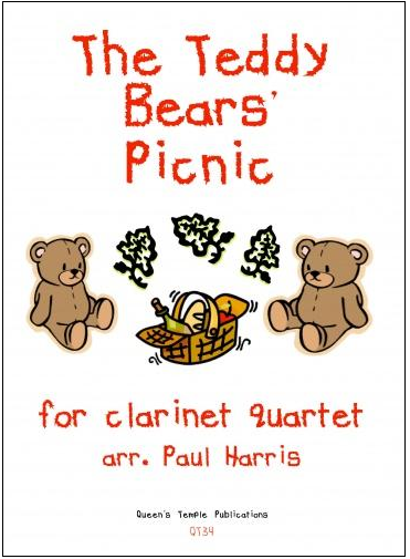 THE TEDDY BEAR'S PICNIC (score & parts)