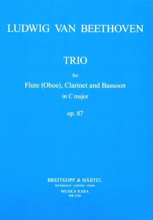 TRIO in C major Op.87 (score & parts)