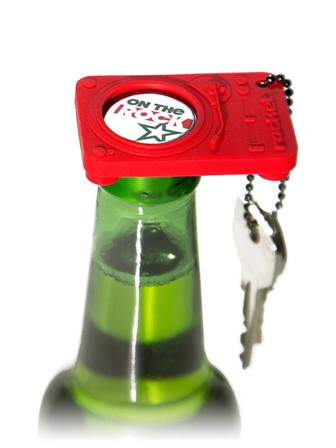 BOTTLE OPENER KEYCHAIN Opening Act