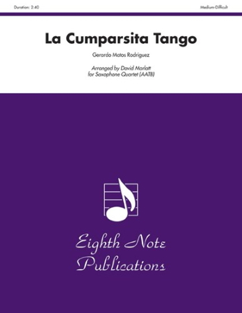 LA CUMPARSITA TANGO score & parts