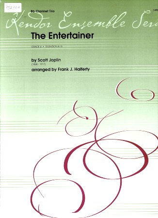 THE ENTERTAINER (score & parts)
