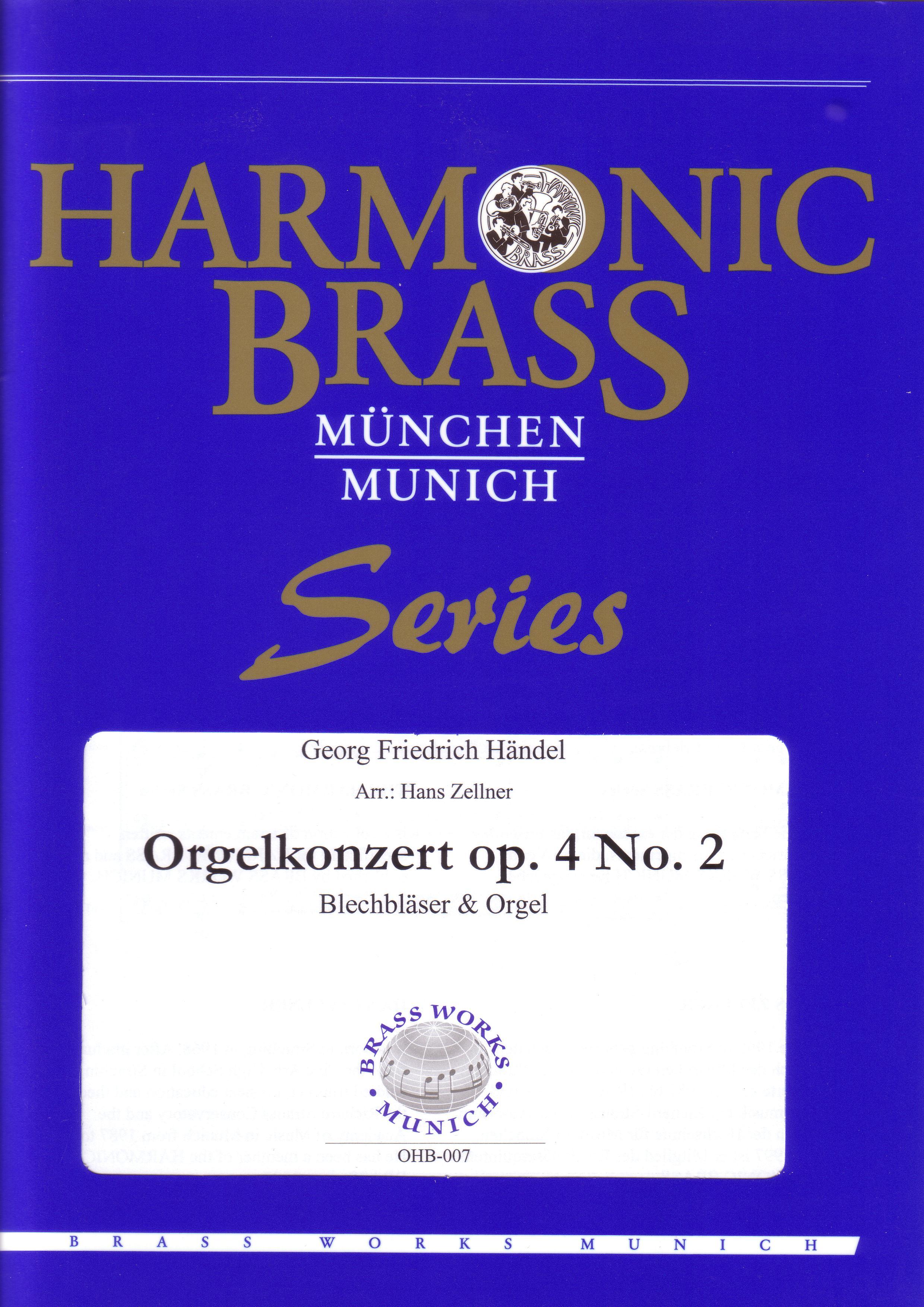 ORGAN CONCERTO Op.4 No.2