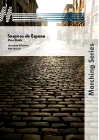 SUSPIROS DE ESPANA Paso Doble (score & parts)
