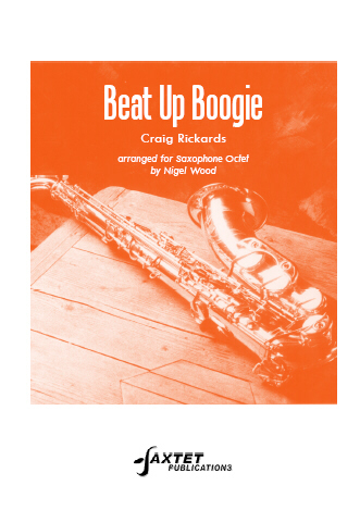 BEAT UP BOOGIE score & parts
