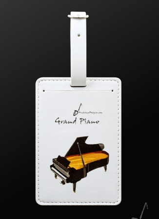 LUGGAGE TAG Grand Piano