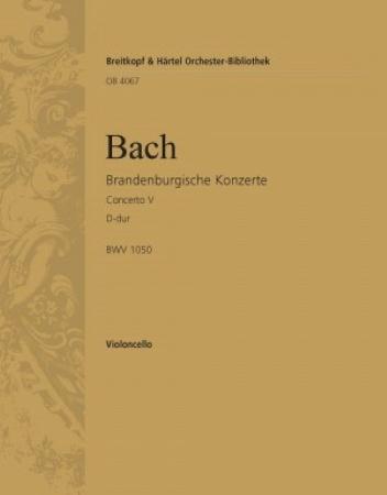 BRANDENBURG CONCERTO No.5 'cello part