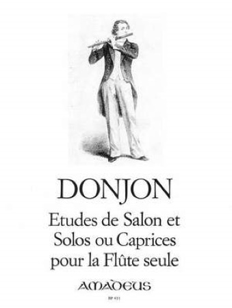 ETUDES DE SALON, SOLOS AND CAPRICES