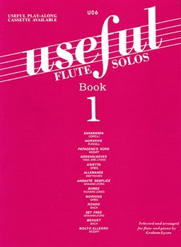 USEFUL FLUTE SOLOS Volume 1 (book only)