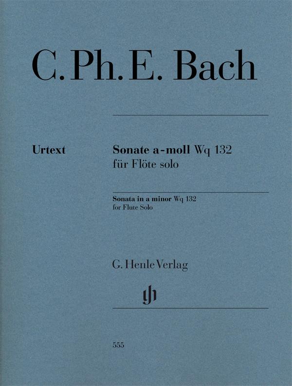SONATA in A minor, Wq 132