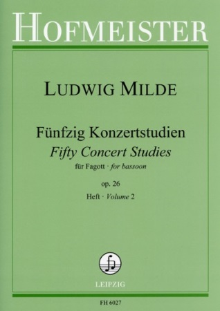 FIFTY CONCERT STUDIES Op.26 Volume 2