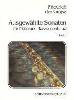 AUSGEWAHLTE SONATEN Volume 1