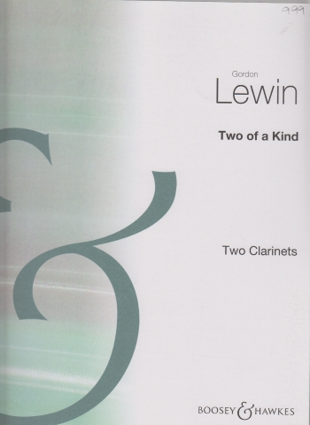 TWO OF A KIND (playing score)