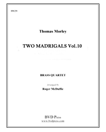 2 MADRIGALS Volume 10