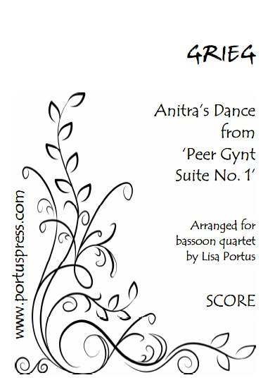 ANITRA'S DANCE (score & parts)