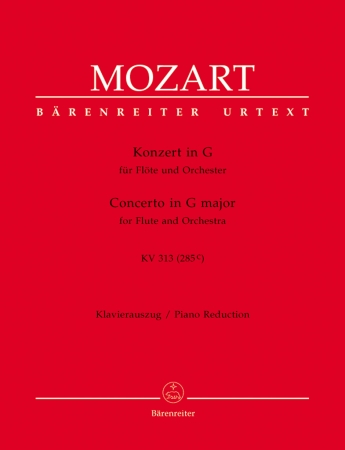 CONCERTO No.1 in G major K313 (285c) Urtext