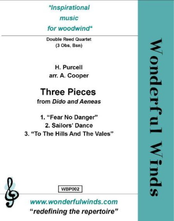 THREE PIECES from Dido and Aeneas (score & parts)