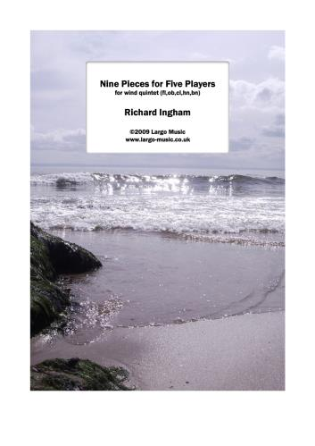 NINE PIECES FOR FIVE PLAYERS (score & parts)