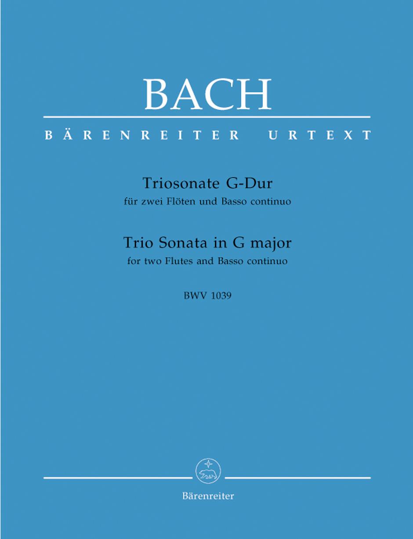 TRIO SONATA in G major, BWV 1039