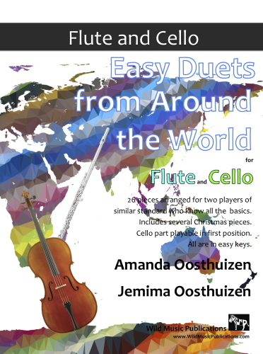 EASY DUETS FROM AROUND THE WORLD for Flute & Cello